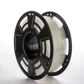 Tlačová struna ABS pre 3D tlačiarne, 1,75mm, 1kg, priehľadná