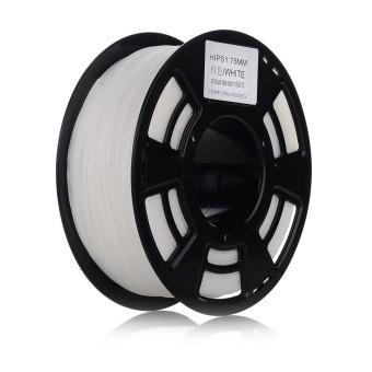 Tlačová struna HIPS pre 3D tlačiarne, 1,75mm, 1kg, biela