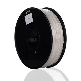 Tlačová struna NYLON pre 3D tlačiarne, 1,75mm, 1kg, biela