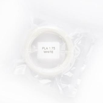 Tlačová struna PLA pre 3D perá, 1,75mm, 5m, biela