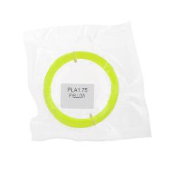 Tisková struna PLA pro 3D pera, 1,75mm, 5m, fluorescenční žlutá