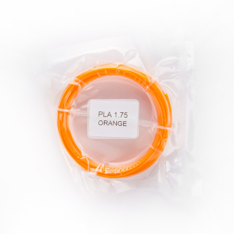 Tlačová struna PLA pre 3D perá, 1,75mm, 5m, oranžová