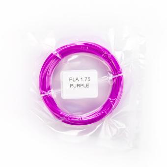 Tlačová struna PLA pre 3D perá, 1,75mm, 5m, purpurová