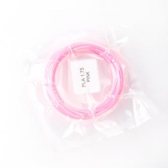 Tlačová struna PLA pre 3D perá, 1,75mm, 5m, ružová