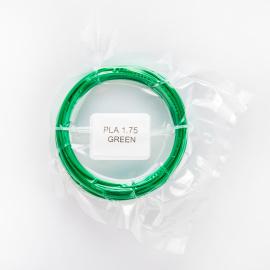 Tisková struna PLA pro 3D pera, 1,75mm, 5m, zelená