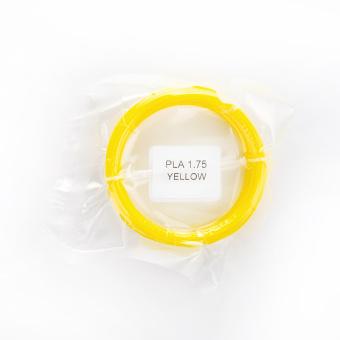Tlačová struna PLA pre 3D perá, 1,75mm, 5m, žltá