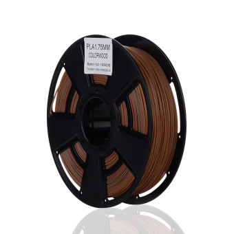 Tlačová struna PLA pre 3D tlačiarne, 1,75mm, 0,75kg, s prímesou farebného dreva