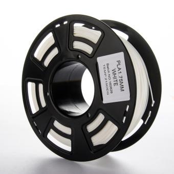 Tlačová struna PLA pre 3D tlačiarne, 1,75mm, 1kg, biela
