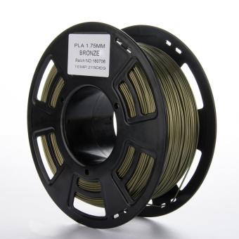 Tlačová struna PLA pre 3D tlačiarne, 1,75mm, 1kg, s prímesou bronzu