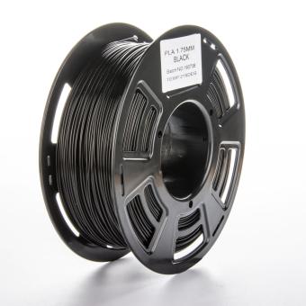 Tlačová struna PLA pre 3D tlačiarne, 1,75mm, 1kg, čierna