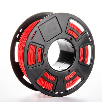 Tisková struna PLA pro 3D tiskárny, 1,75mm, 1kg, červená