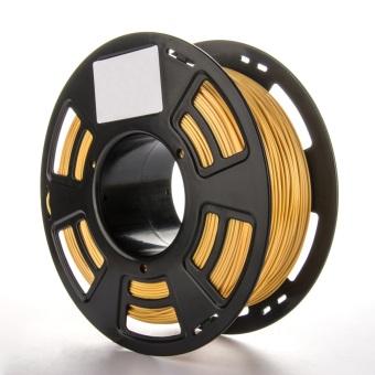 Tlačová struna PLA pre 3D tlačiarne, 1,75mm, 1kg, GT-polymer, zlatá