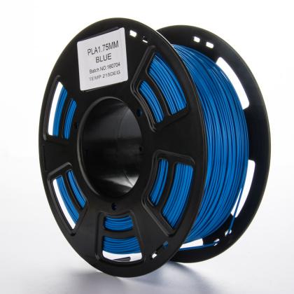 Tisková struna PLA pro 3D tiskárny, 1,75mm, 1kg, modrá