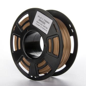 Tlačová struna PLA pre 3D tlačiarne, 1,75mm, 1kg, mosadzná