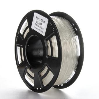 Tlačová struna PLA pre 3D tlačiarne, 1,75mm, 1kg, priehľadná