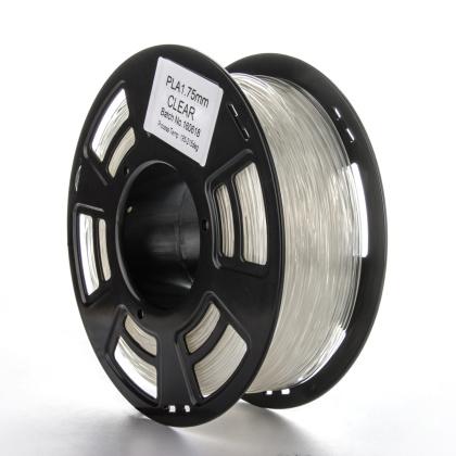 Tisková struna PLA pro 3D tiskárny, 1,75mm, 1kg, průhledná
