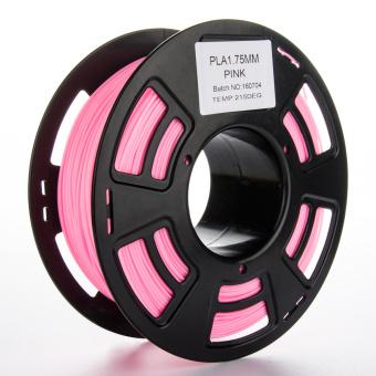 Tlačová struna PLA pre 3D tlačiarne, 1,75mm, 1kg, ružová