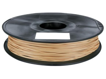 Tlačová struna PLA pre 3D tlačiarne, 1,75mm, 0,75kg, s prímesou dreva (svetlá)