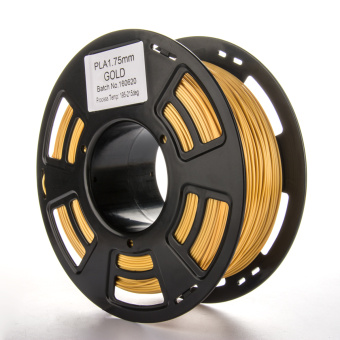 Tlačová struna PLA pre 3D tlačiarne, 1,75mm, 1kg, zlatá