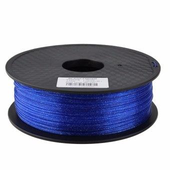 Tlačová struna trblietavá pre 3D tlačiarne, 1,75mm, 1kg, modrá